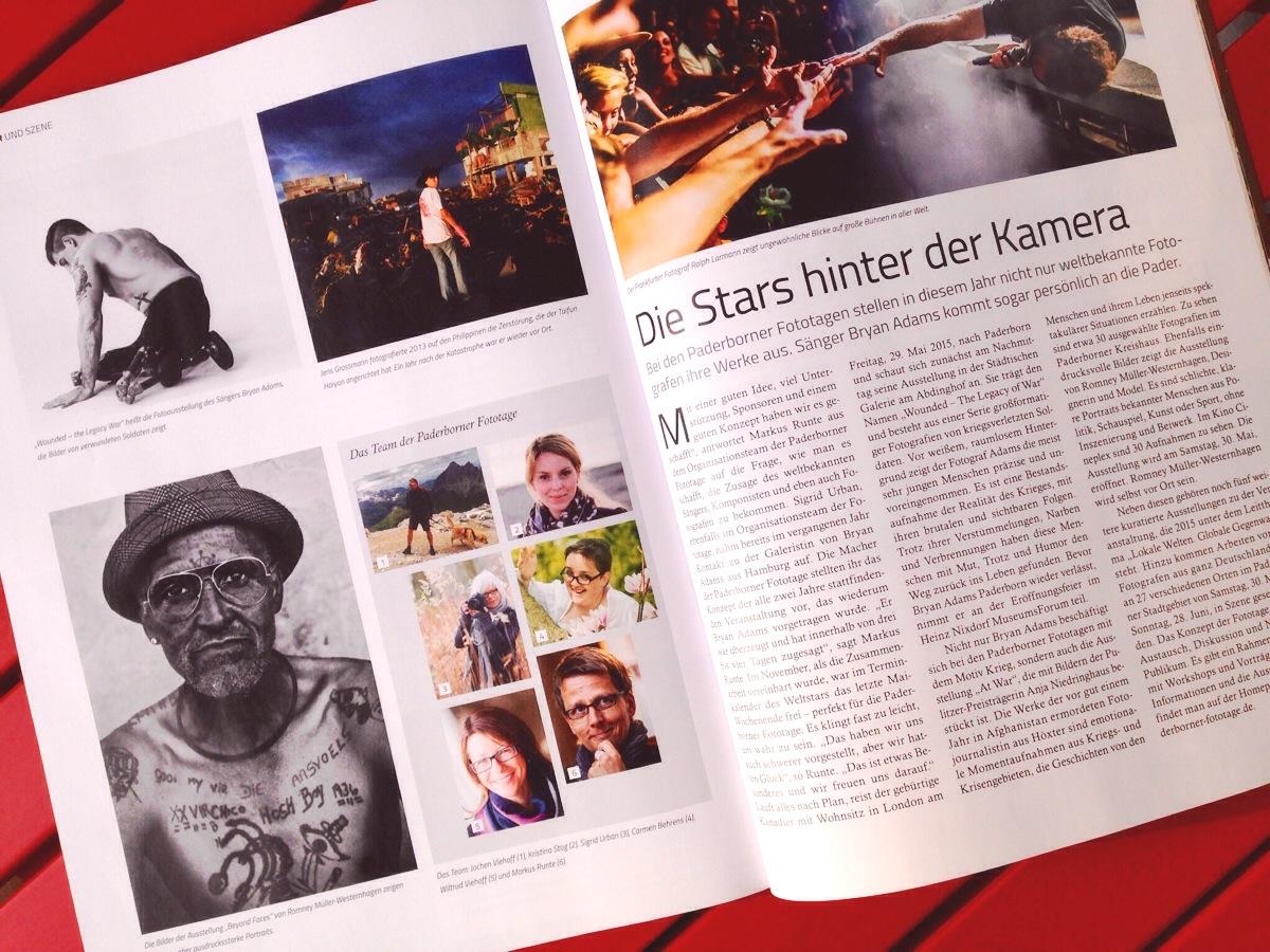 "Paderborner Fototage im Magazin ""Neptun"""